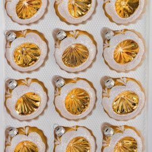 Christbaumkugeln Reflexkugeln.12 Teilige Weihnachtskugeln Sets Navidacio