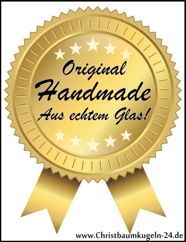 """2 tlg. Glas-Herzen Set in """"Hochglanz Vintage Style"""""""